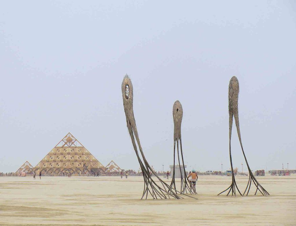 Festivals populaires : Burning Man