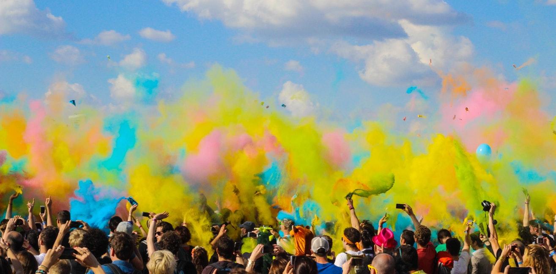 Le festival de Holi (La fête des couleurs)